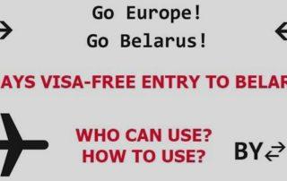 Visa-free visiting Belarus