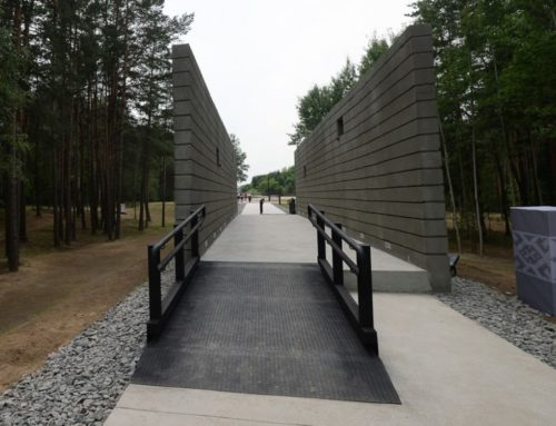 Opening of the Trostenets Memorial in Minsk