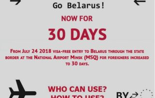 30 days Visa-free-visiting-Belarus