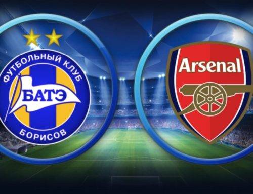 FC BATE vs FC Arsenal 1/32 Europa League