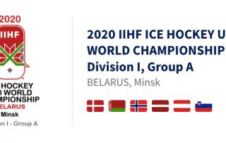 2020 IIHF Ice Hockey U20 World Championship