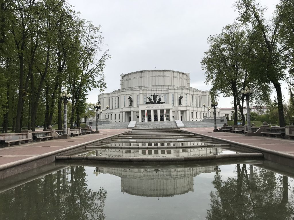 National opera and ballet in Minsk